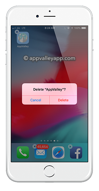 delete_appvalley_iphone