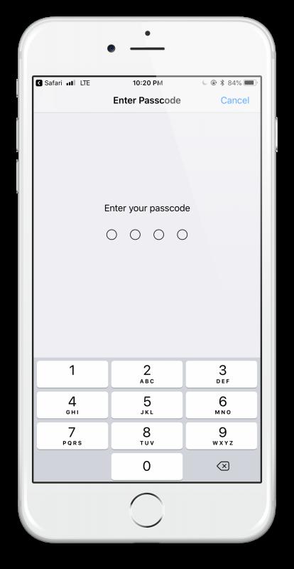 passcode (