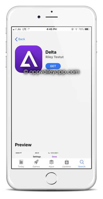 Delta Emulator ( Download ) AppValley App
