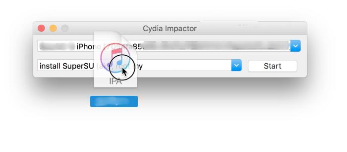cydia impactor ipa drag