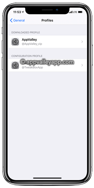 app valley profile ios 13