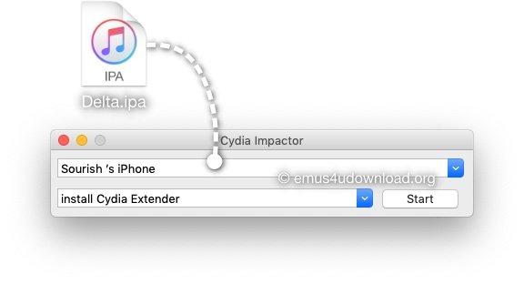 cydia impactor delta emulator ipa file